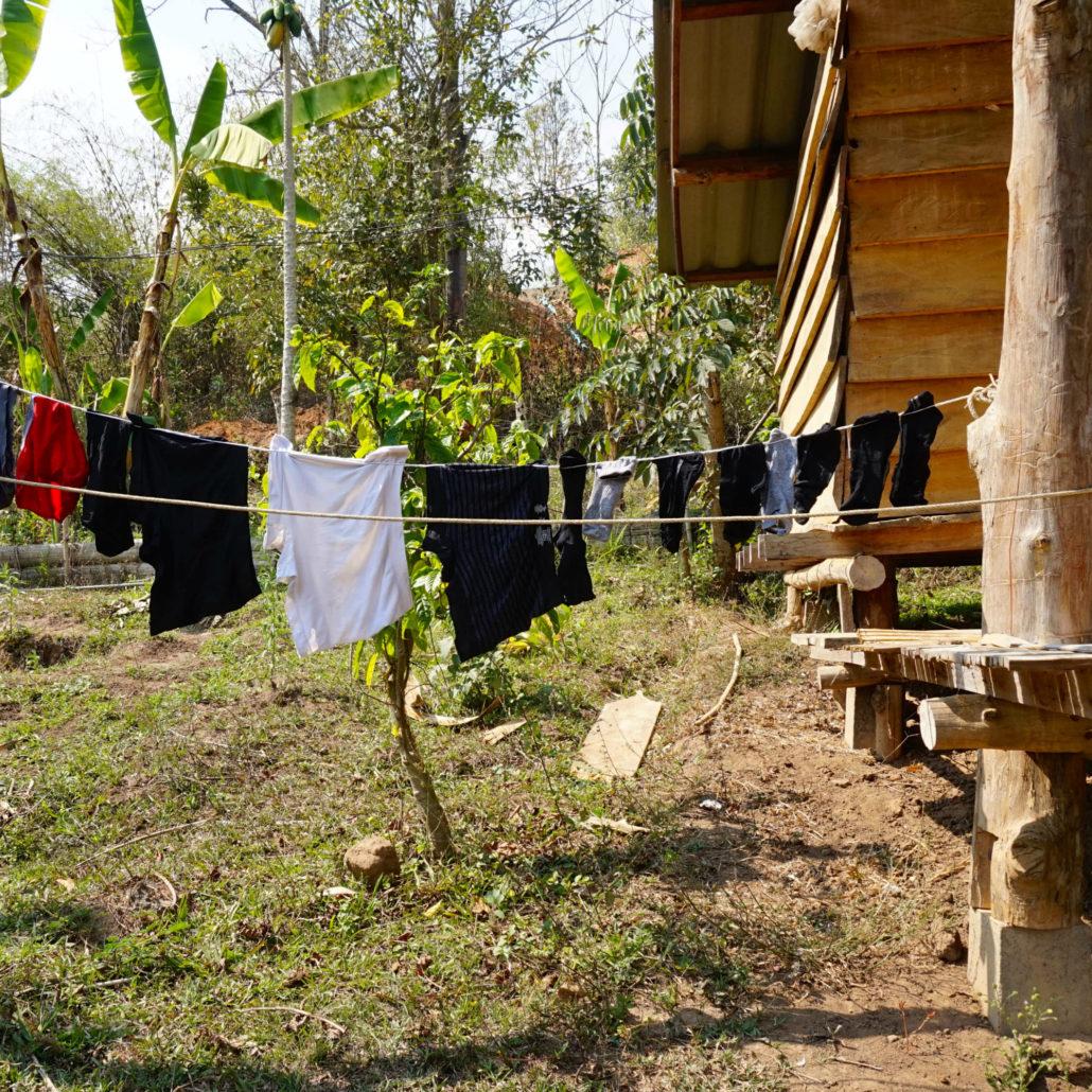 washing line square