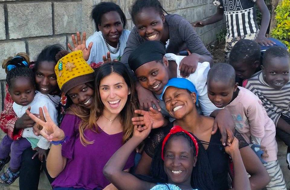 volunteer abroad workaway Kenya girls children group education