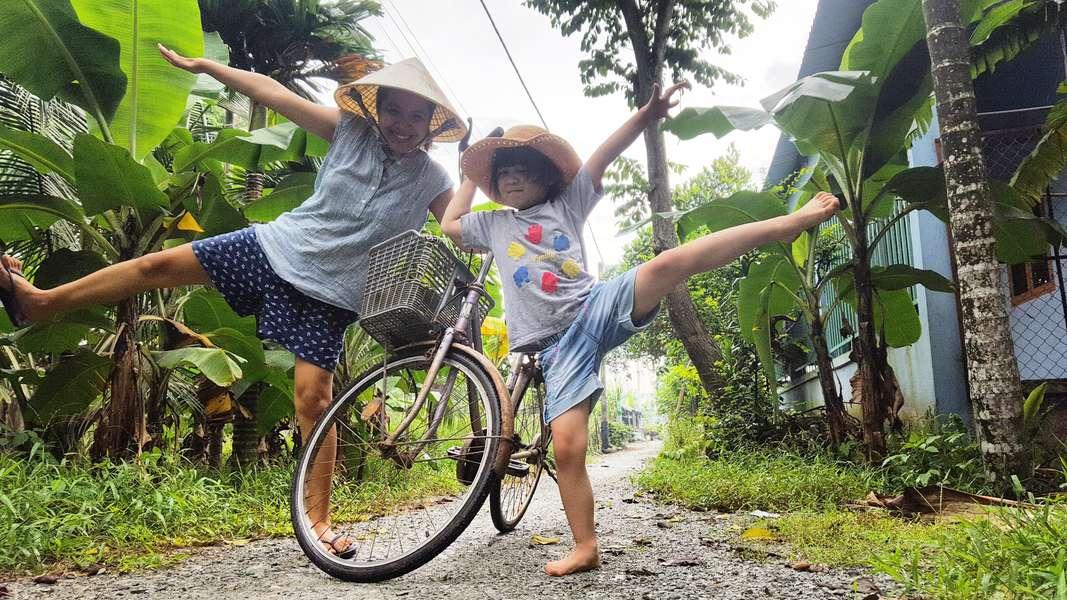 Vietnam adventure cycling
